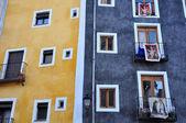 Beautiful facade in Cuenca, Spain — Stock Photo