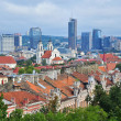 Panorama of Vilnius, Lithuania — Stock Photo