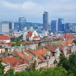 Stock Photo: Panoramof Vilnius, Lithuania