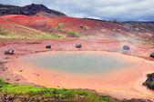 Geothermal area near Geysir — Stock Photo