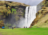 Beautiful Skogafoss — Stock Photo