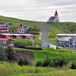 Stock Photo: Icelandic church in Vik