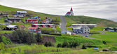 Icelandic church in Vik — Stock Photo