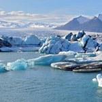 Isländska glaciären lagunen — Stockfoto