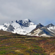 Icelandic peaks and soil — Stock Photo