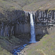 Svartifoss from above — Stock Photo