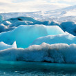 Blue icebergs in Iceland — Stock Photo