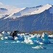 Blue Glacier Lagoon — Stock Photo