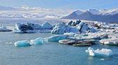 Isländische gletscher lagune — Stockfoto