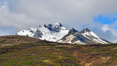 Icelandic peaks and soil — Stock Photo