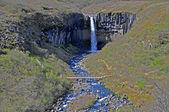 Svartifoll waterfall in Iceland — Stock Photo
