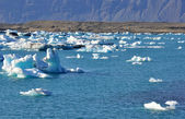 Jokulsarlon gracier lagoon — Stock Photo