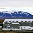 Stock Photo: Icelandic hotel