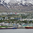 Stock Photo: Panorama of Akureyri