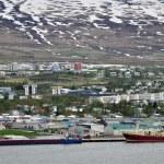 Panorama of Akureyri — Stock Photo