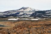 Terra e montanha — Fotografia Stock