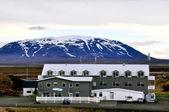 Icelandic hotel — Stock Photo