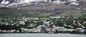 Icelandic city — Stock Photo
