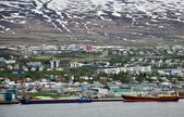Panorama of Akureyri — Stock Photo