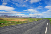 Road, mountain, horizon — Stock Photo