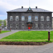 Parliament of Reykjavik — Stock Photo #27020553