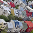 Multi Colored Homes — Stock Photo
