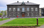 Parliament of Iceland — Stock Photo