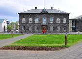 Parlament Reykjavíku — Stock fotografie