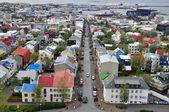 Panorama de reykjavik — Photo