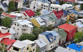 Quartier résidentiel de reykjavik — Photo