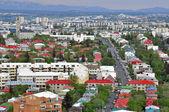 Panorama da cidade de reykjavik — Fotografia Stock