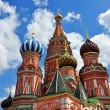 The most famous russian church — Stock Photo
