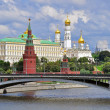 Moscow Kremlin panorama — Stock Photo
