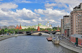 Panorama of Moscow centre — Stock Photo