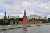 Vista panorámica de moscú kremlin — Foto de Stock