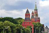 Moscow Kremlin towers — Stock Photo