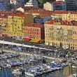 Stock Photo: Harbor in Nice