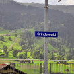 Grindelwald station — Stock Photo #27451057