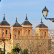 Stock Photo: Toledo mudejar towers