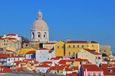 Lizbońska katedra zbliżenie — Zdjęcie stockowe