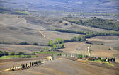Toscana landscape — Stock Photo