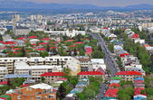 Panorama of Reykjavik — Stock Photo