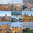 Spain collage — Stock Photo