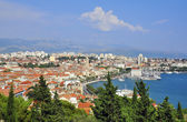 Mediterranean city — Stock Photo
