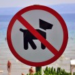 No Dogs Allowed — Stock Photo #28853233