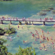 Stock Photo: Public beach in Krka