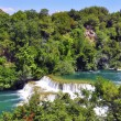 Stock Photo: Waterfalls of Skradinski Buk