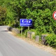 Stock Photo: Road in Krka