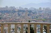 Mediterranean city on daybreak — Stock Photo