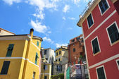 Multicolor houses — Stock Photo